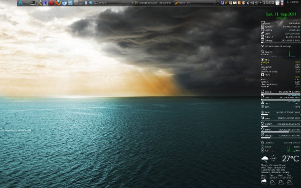 New desktop