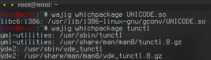 whichpackage?